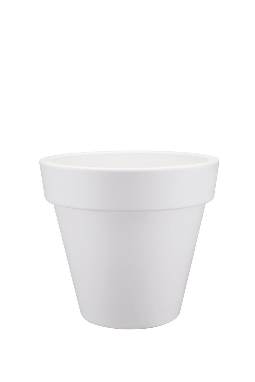Elho 30cm Pure Round Planter - White: Amazon.co.uk: Garden & Outdoors
