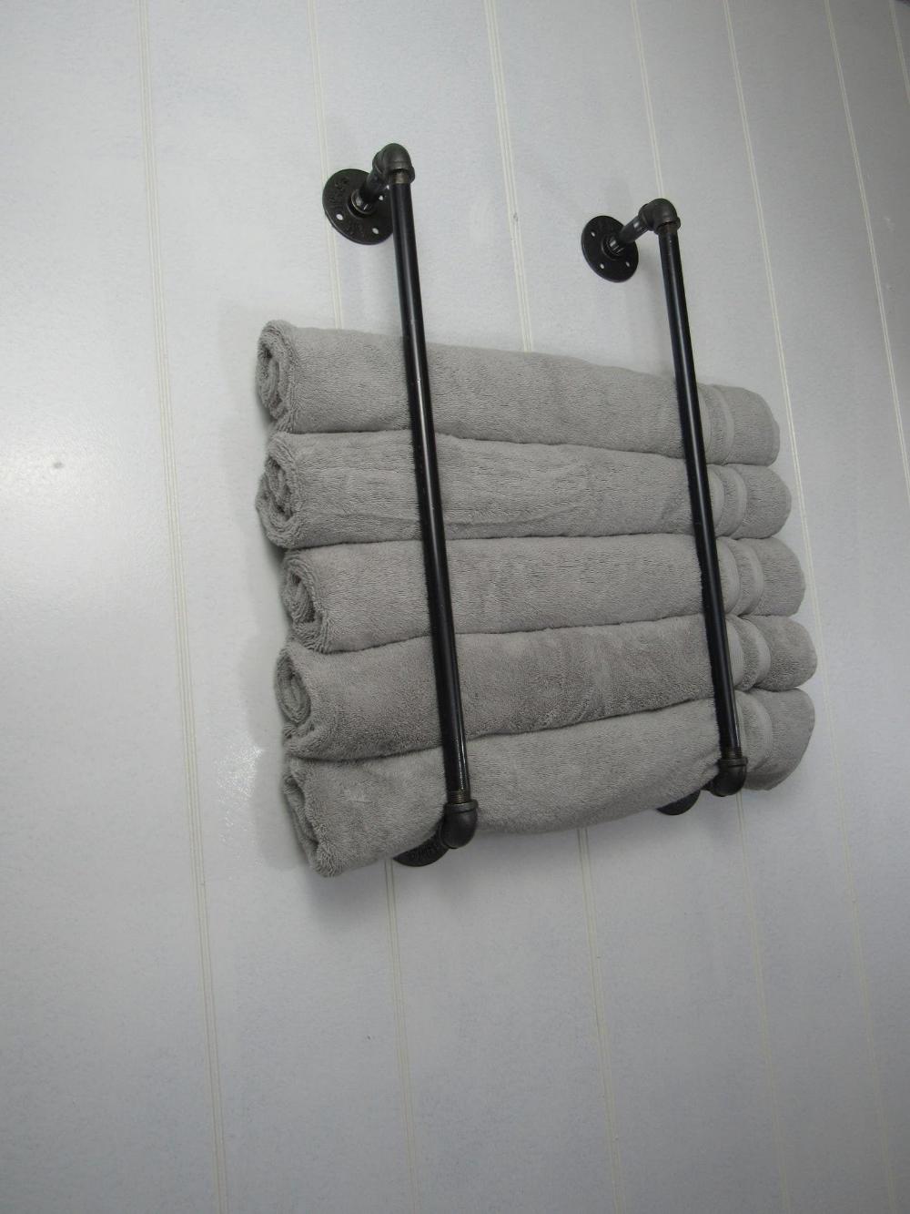 Bathroom Decor Discover Vertical Towel Rack Dual Towel Holder Bathroom Towel Holder Beach Towel Storage Ba In 2020 Towel Holder Bathroom Beach Towel Storage Towel Rack