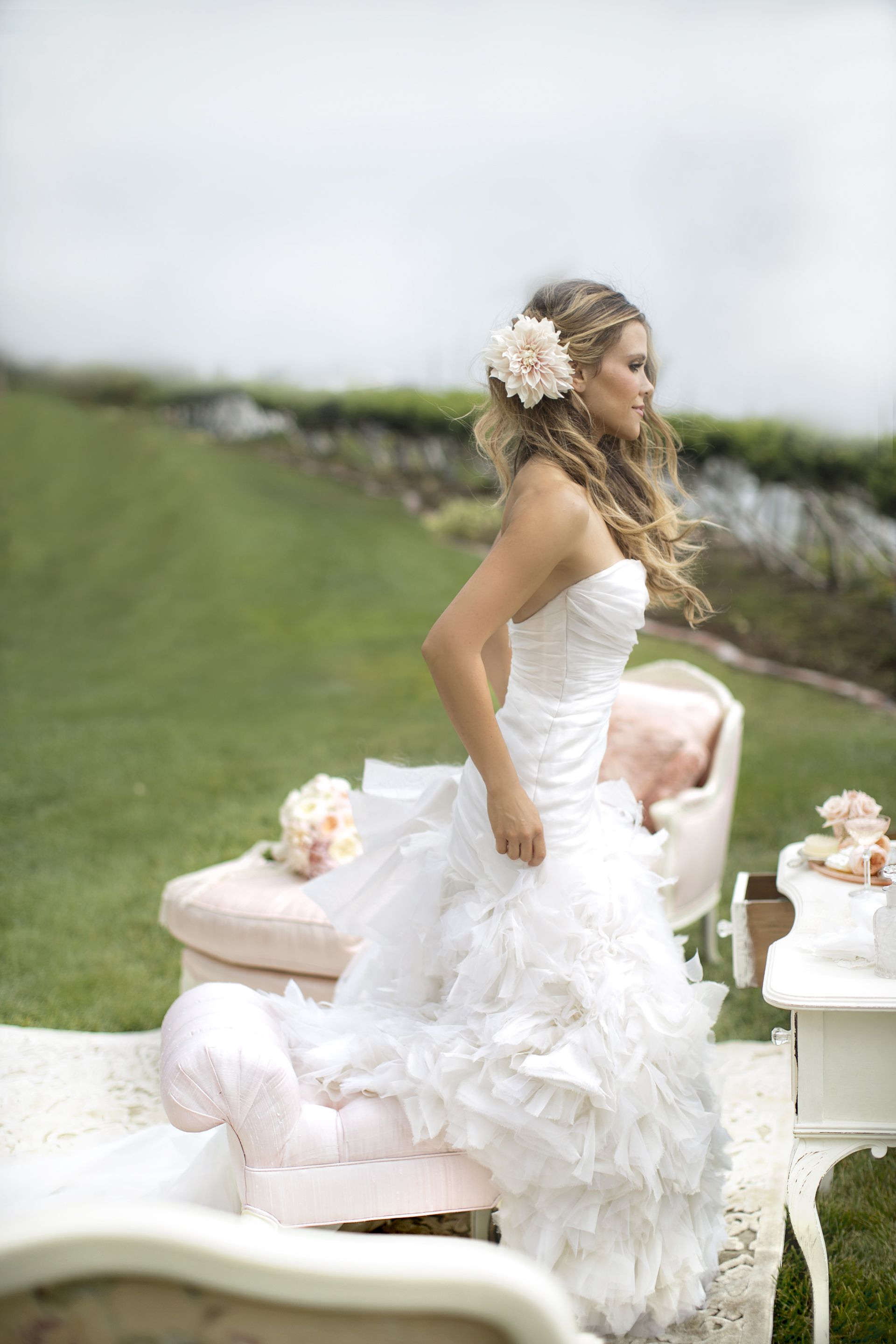 Lovely Bride on her wedding day! Katrina from Tone it up gets ...