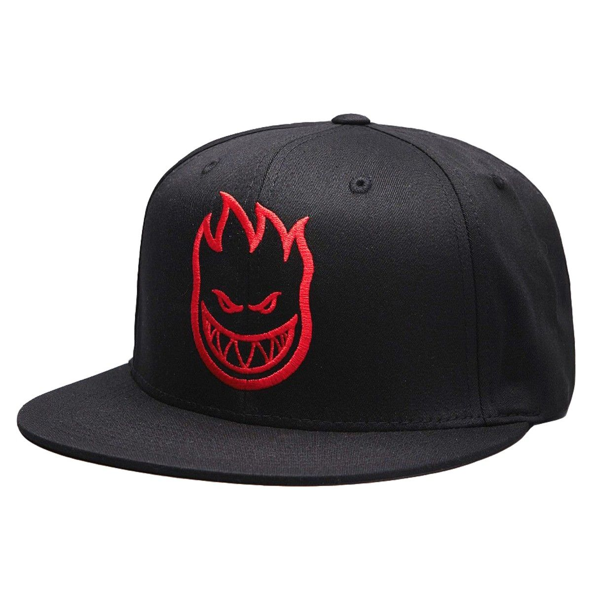 Spitfire Cap Firehead snapback black red grey casquette ajustable ... 752d5382834