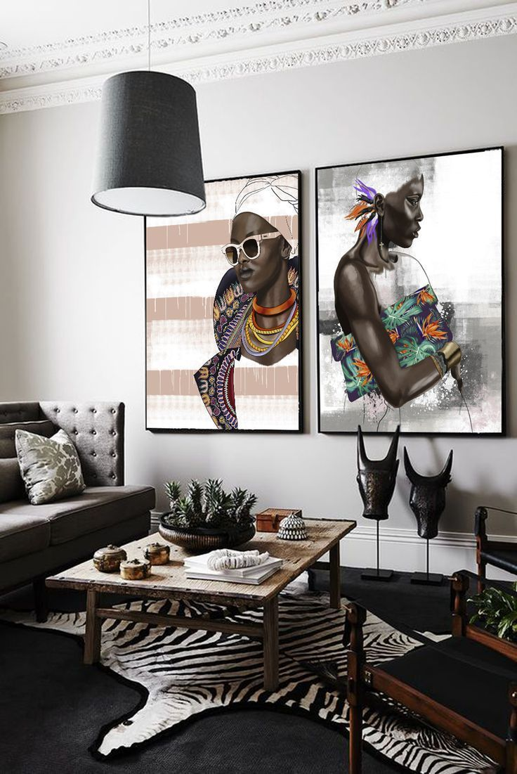 Bring It Paradise Bound By Sana Jamlaney African Decor Living Room African Inspired Decor African Home Decor African dining room decoration