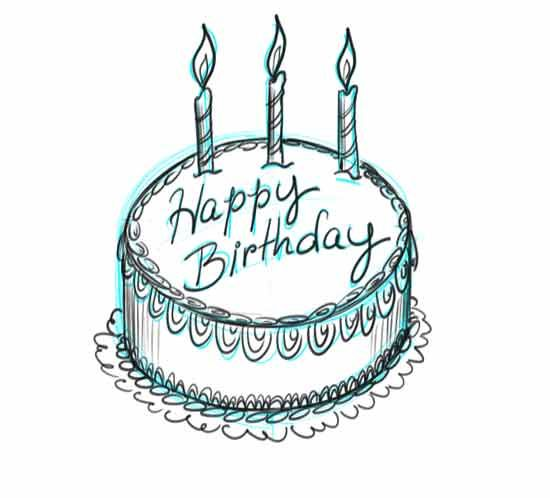 Make your own birtday cake step 7 how to draw pinterest make your own birtday cards step 7 bookmarktalkfo Choice Image