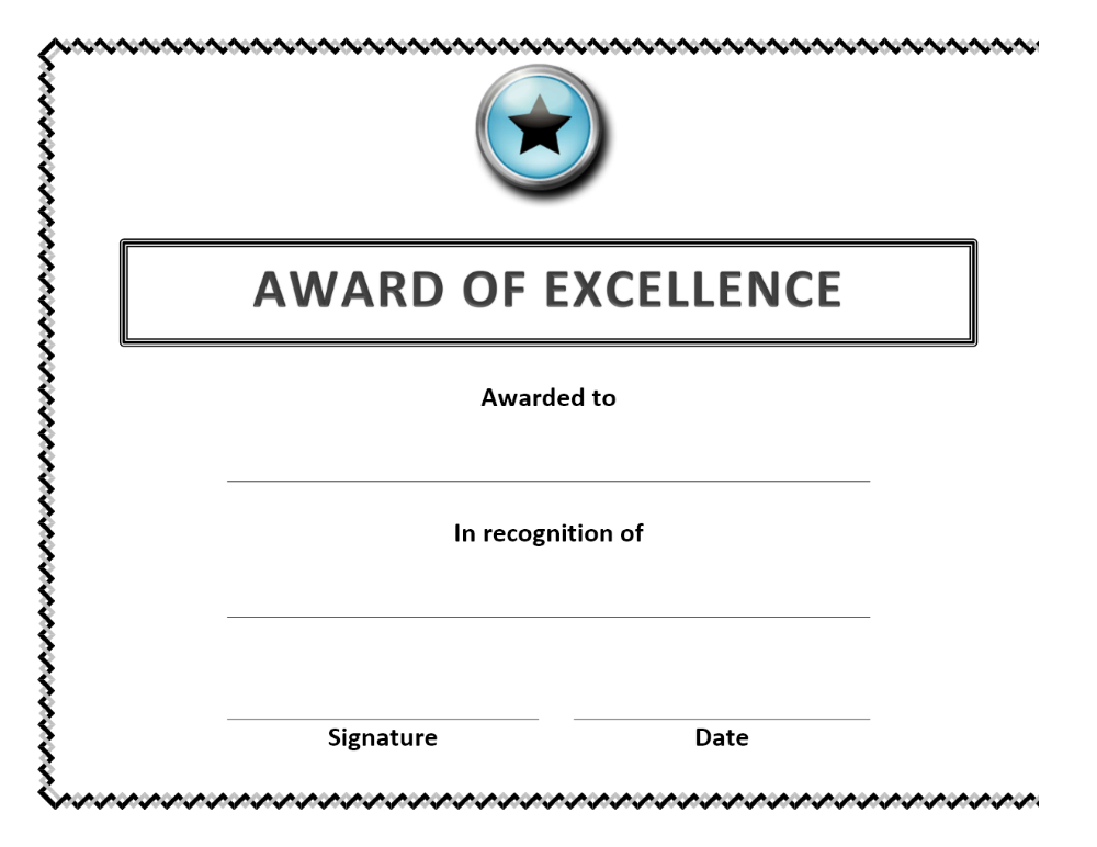 Certificate Templates For Word Or Golf Handicap With Professional Throughout Golf Certificate Templates For Word In 2020 Awards Certificates Template Free Certificate Templates Certificate Templates