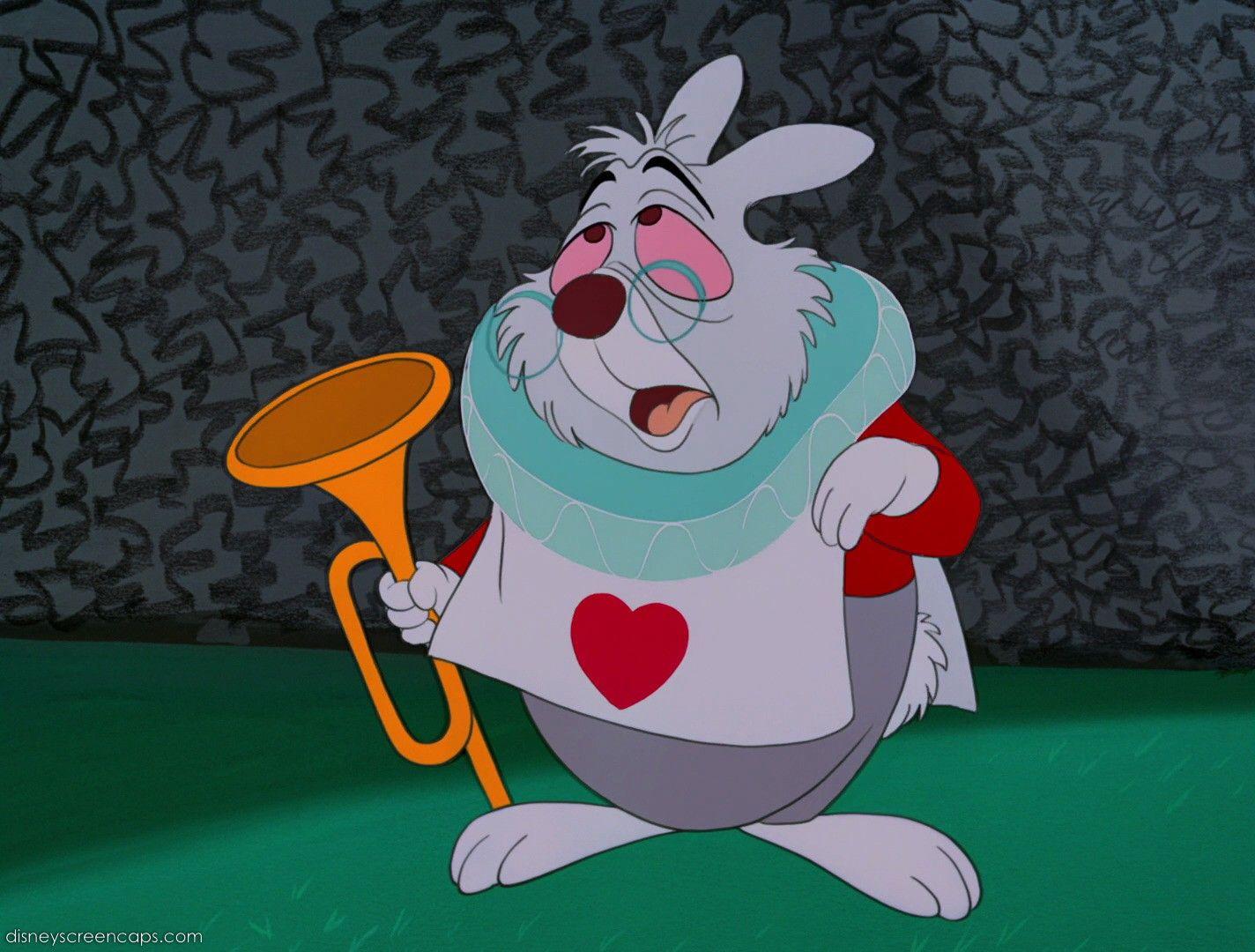 *THE WHITE RABBIT ~ Alice in Wonderland,1951 ...