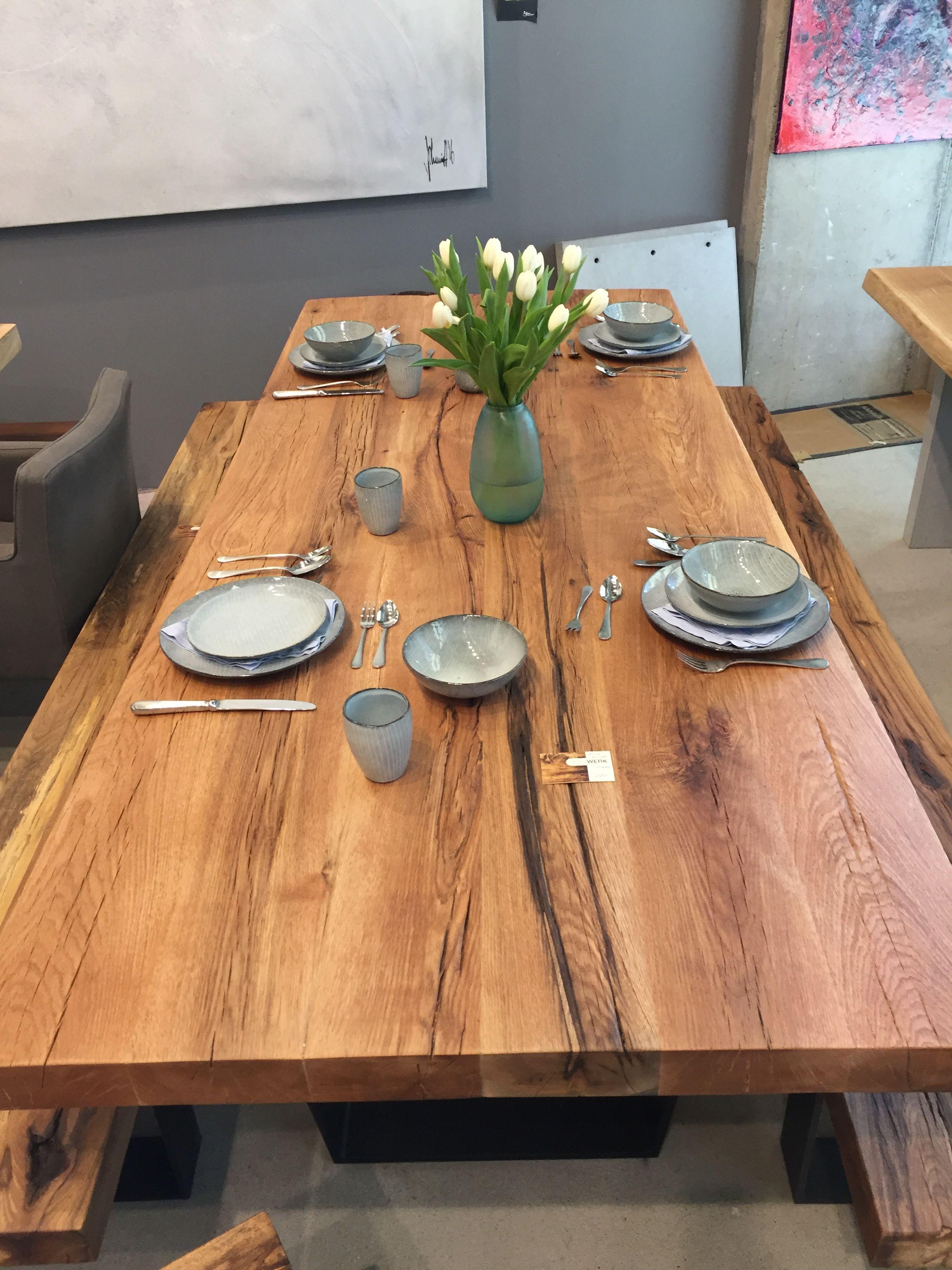 Esstisch Massivholztisch Dinningtable Interior Tisch