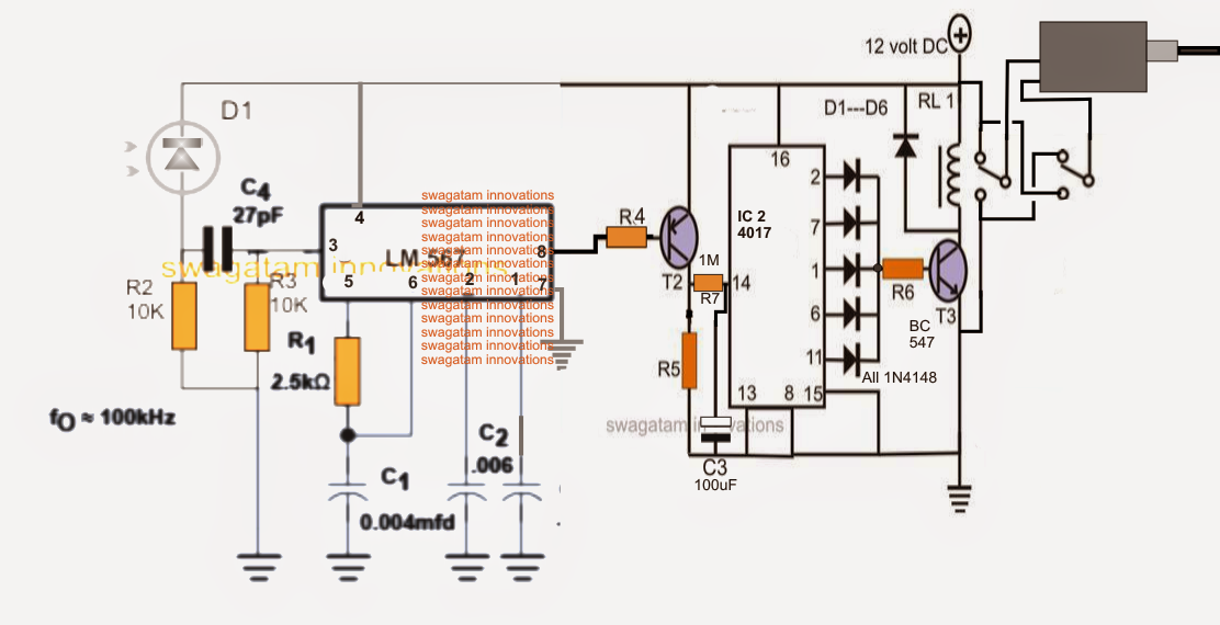 Garage Door Opener Remote Circuit Diagram - Wiring Diagram M4 on