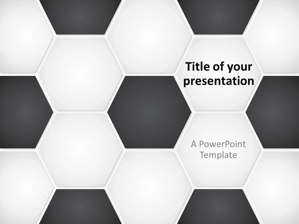 free football soccer ball powerpoint template   sport powerpoint, Modern powerpoint