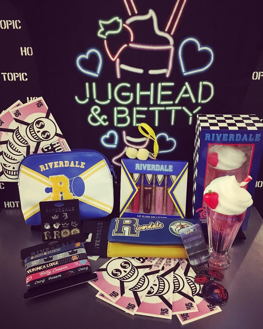 3e0d3bcd6a26b Tons of awesome Riverdale merch to spend your Hot Cash on!  hottopic   hotcash  riverdale  bughead  cosmetics  fragrance