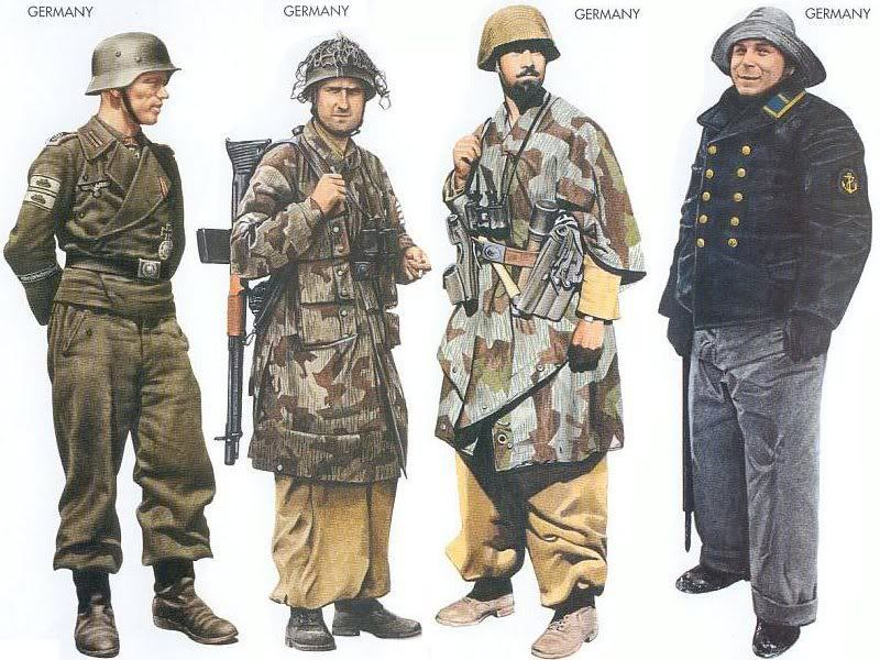 World War II Uniforms - Germany - 1943 July, Kursk, Sergeant