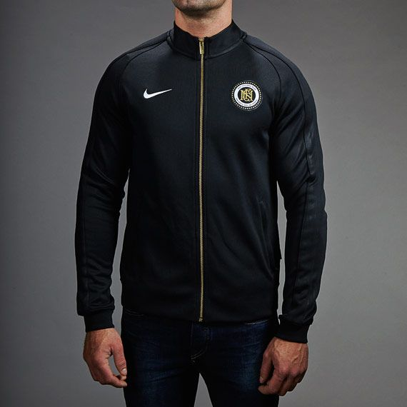 5fd52c59cf Nike FC N98 Poly Track Jacket - Black White