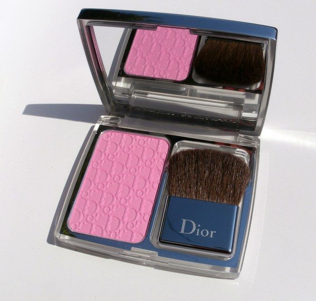 Dior, Rosy Glow, Healthy Glow, Awakening Blush, review, lovely presentation, light rose fragrance, useful brush included, smooth, blends easily, pigmented, nice glow, no shimmer, fresh, flattering, true light pink, lasts long