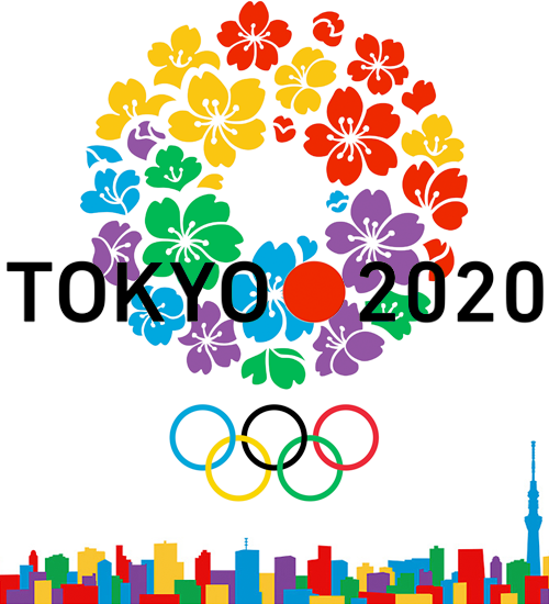 Tokyo Olympic 2020. Tokyo of the future urban, pop and