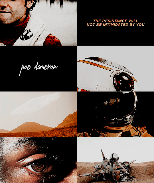 Aesthetic Meme 59 Characters Poe Dameron The Resistance Will