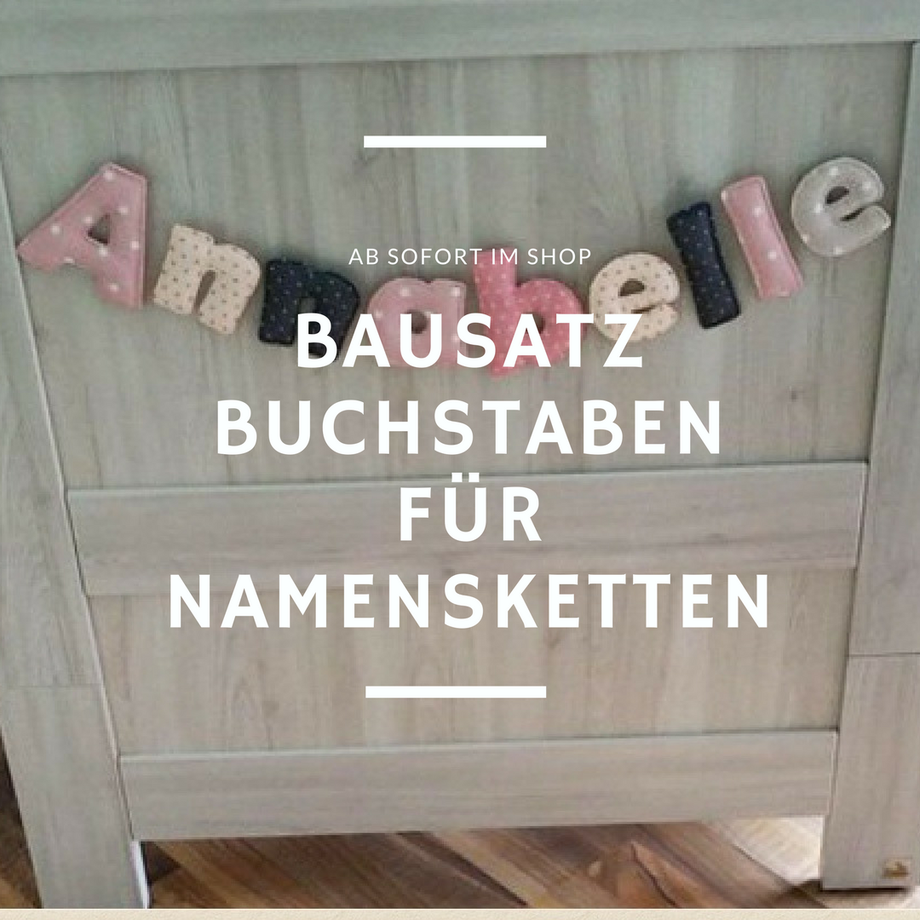 zur herstellung von buchstaben aus stoff inhalt bebilderte anleitung alphabet gro e und kleine. Black Bedroom Furniture Sets. Home Design Ideas