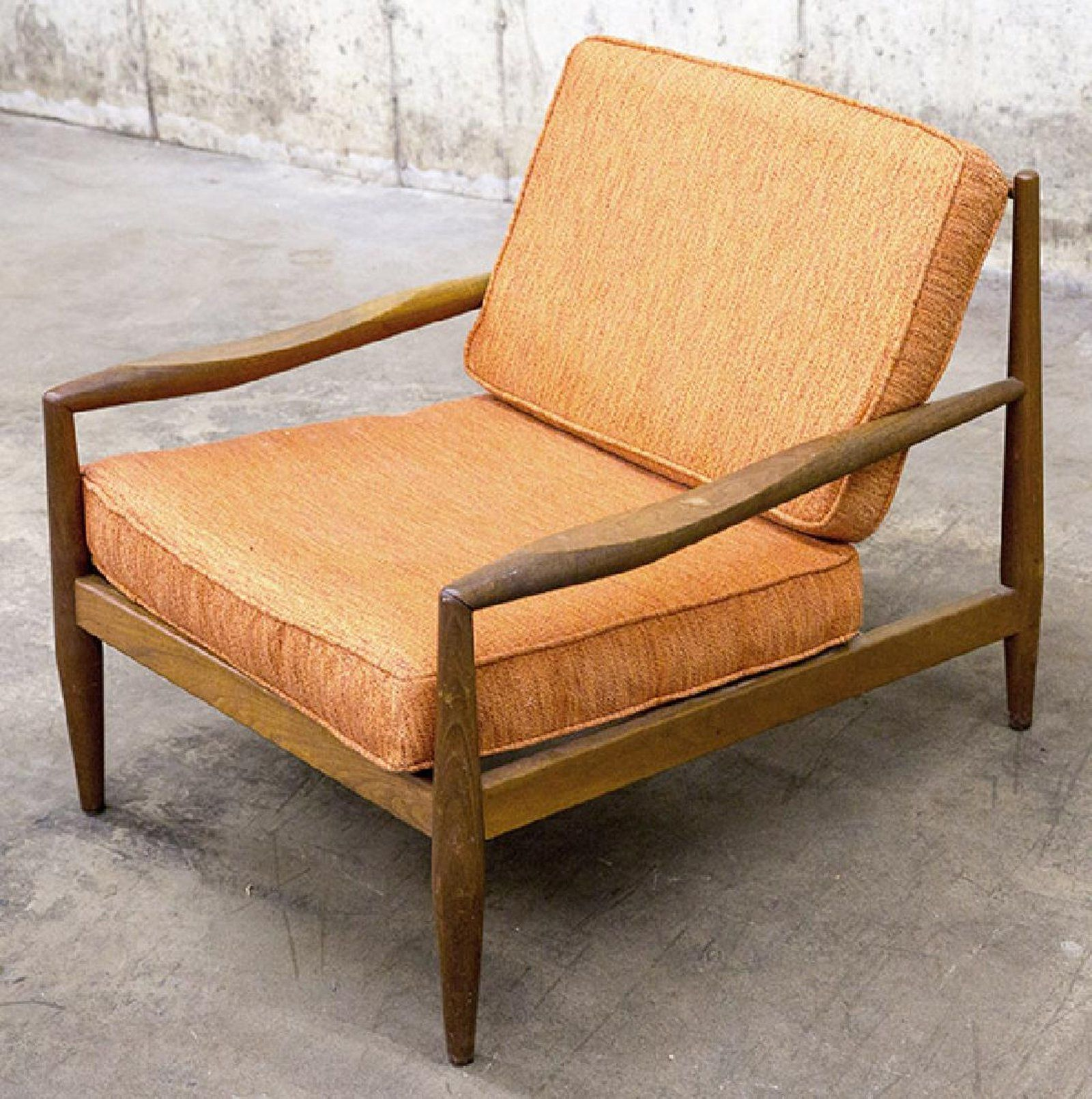 Adrian Pearsall Lounge Chair Tulip Cushion A 1950 S On Bought Line