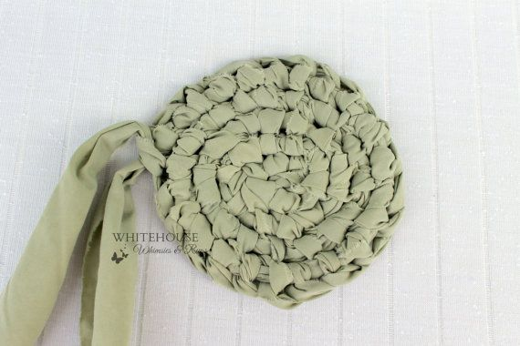 Amish Knot Rag Rug Starter Toothbrush Round By Whimsiesans