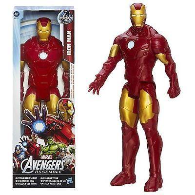 Mavel Avengers Iron Man Titan Avengers Series 12 Inch   Sealed Iron Man Toy NEW