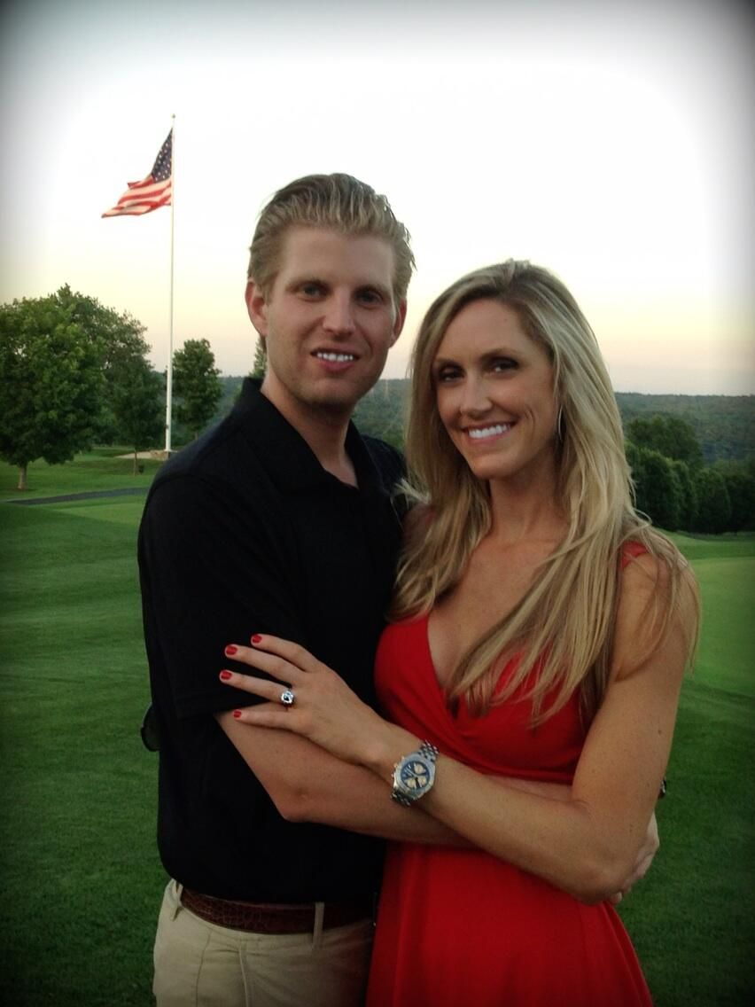 Congrats To Eric Trump And Lara Yunaska For Their Engagement! Eric Proposed  To Lara In