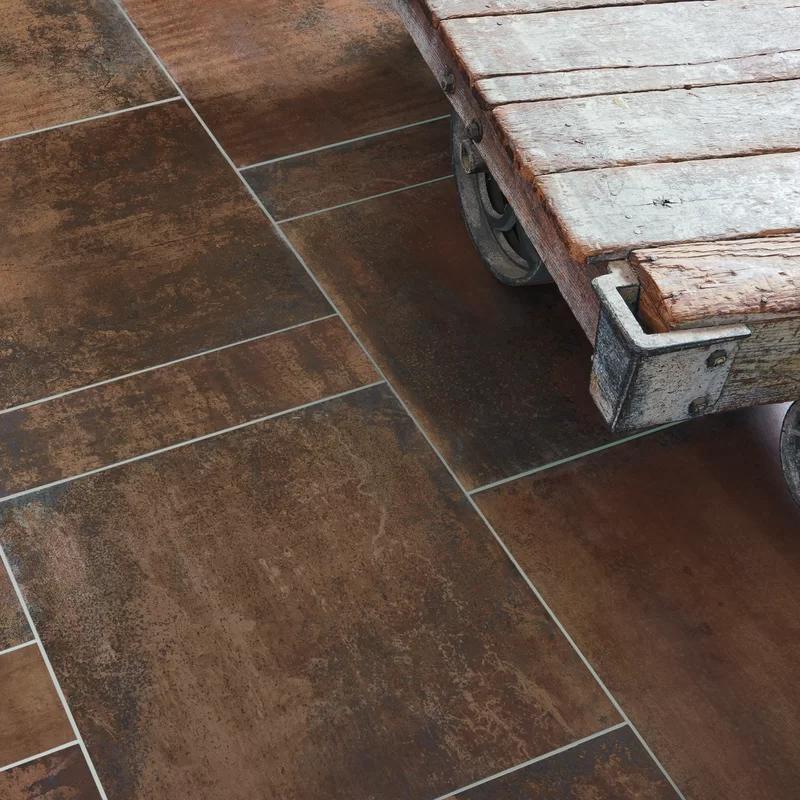 Common Core 23 5 X 5 8 Matte Porcelain Bullnose Tile Trim In Copper Bullnose Tile Tile Trim Tiles