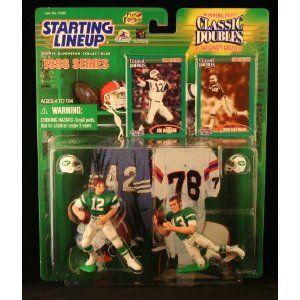 Starting Lineup 1998 Joe Namath//Don Maynard New York Jets Classic Double