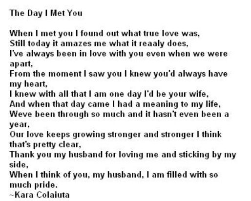 Husband Quote Poems About Lovelove
