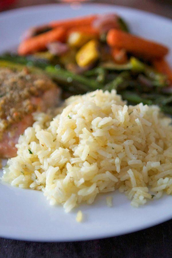 Butter Rice #seasonedricerecipes