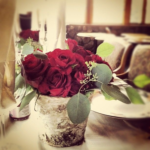 All red roses with two varieties one being the quot heart
