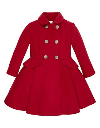 Ally Coat | Red | Monsoon | For the Kids | Pinterest | Monsoon ...