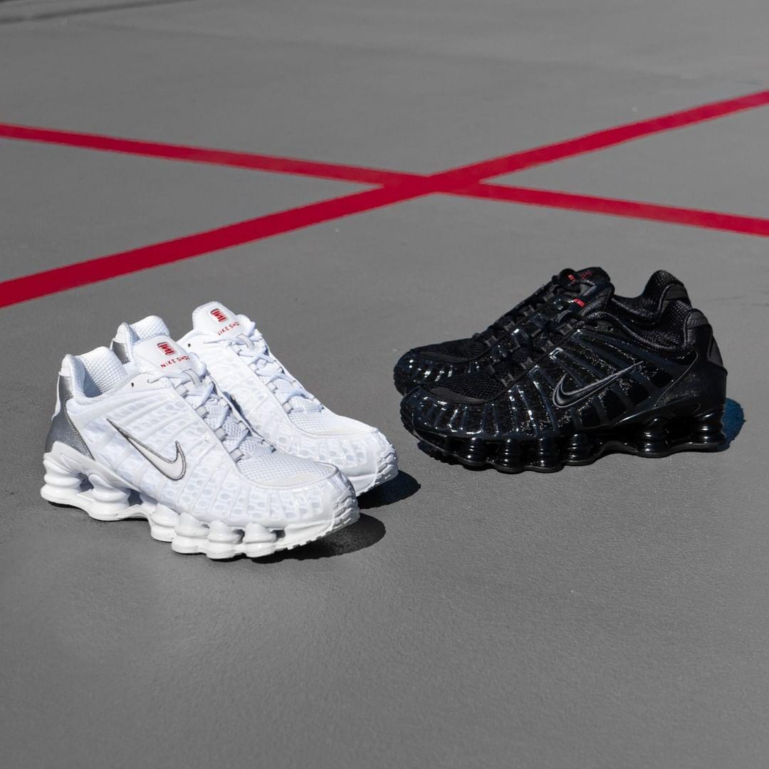 Nike Shox TL in weiss AV3595 100 in 2020 | Sneakers mode