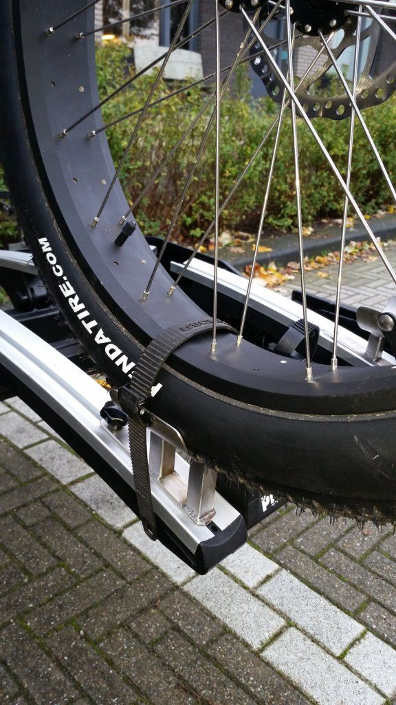 Diy Fat Bike Rack Tray Straps For 5 Tires Write Up With Photos