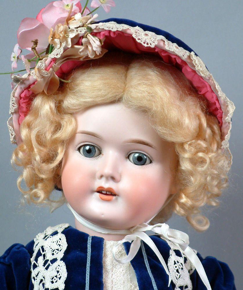 """Pretty 24"""" Antique cm Bergmann 1916 Antique German Bisque Doll c1916 Look WOW   eBay"""