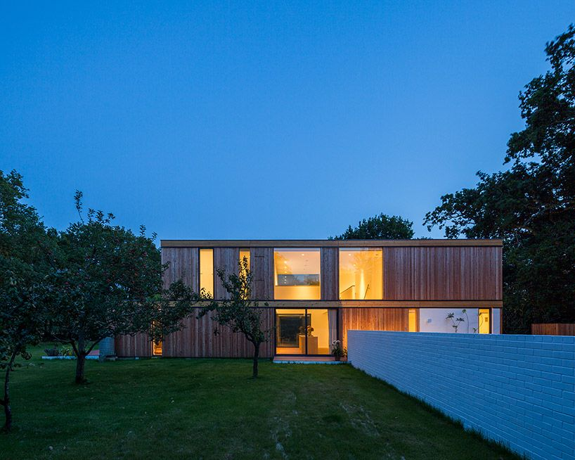 located in south east england, this two-storey dwelling by ström ...