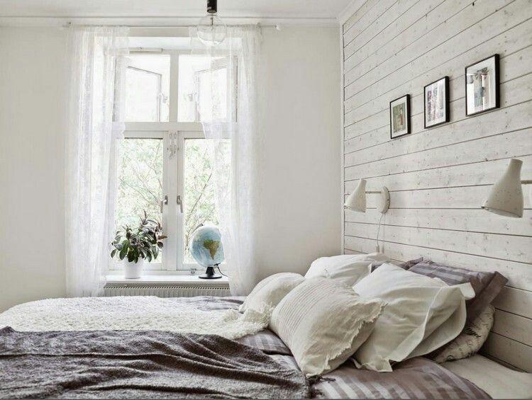 Pin Von Jana Spettmann Auf Home Sweet Home Schlafzimmer Weiss Landhaus Schlafzimmer Wandpaneele