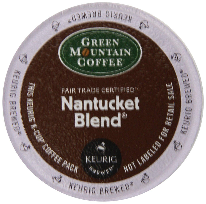 Green Mountain Coffee Nantucket Blend, Medium Roast, 24
