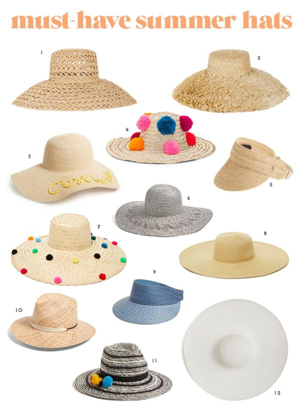 Hat Trick 12 Must Have Summer Straw Hats For The Season Summer Straw Hat Straw Hat Diy Hats