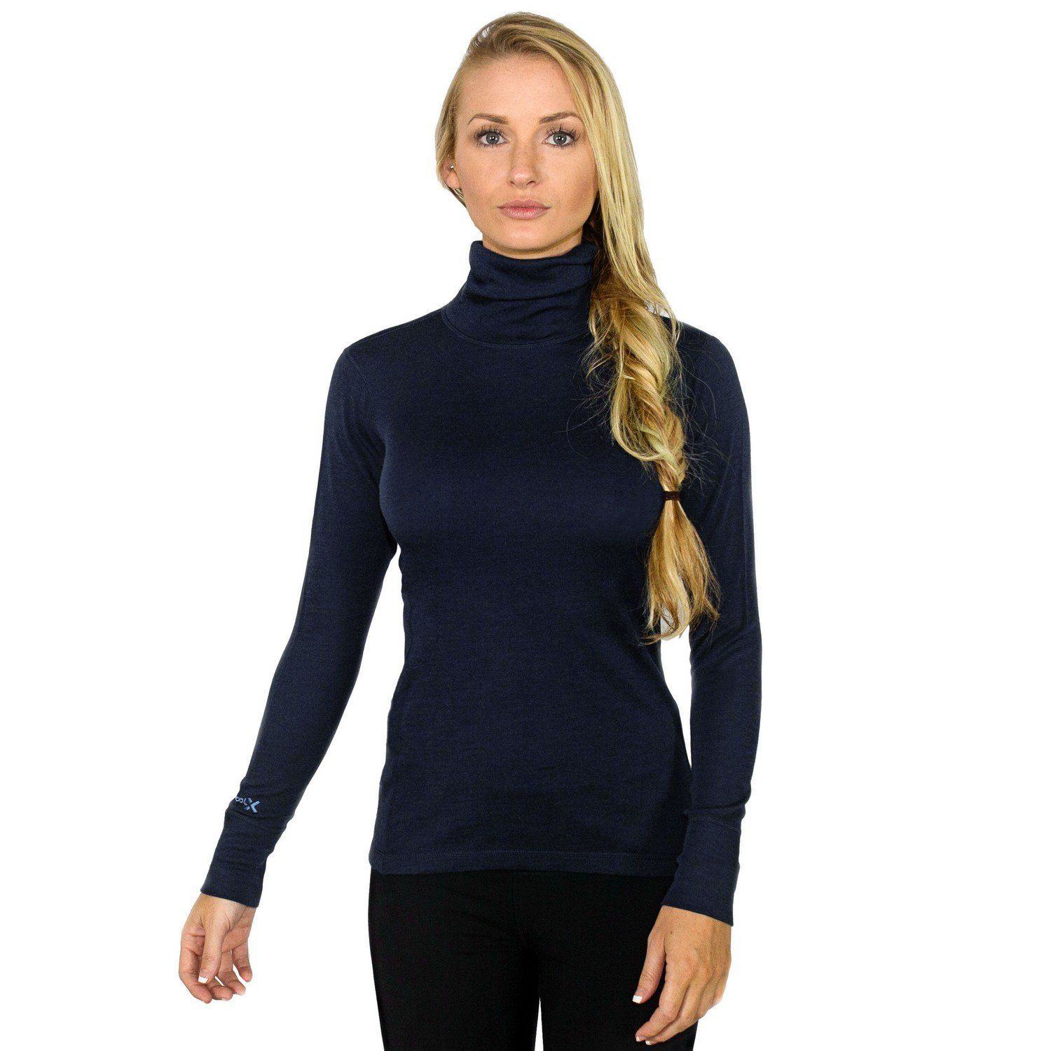 Womens Peyton Turtleneck Cohabitation Unowned Sporty Bri Genevieve 90026 Classic Bagpack Best Seller Our Merino Wool Will Look Just As Good On The Slopes It In Office 100 Warmth And Style One Free Shipping