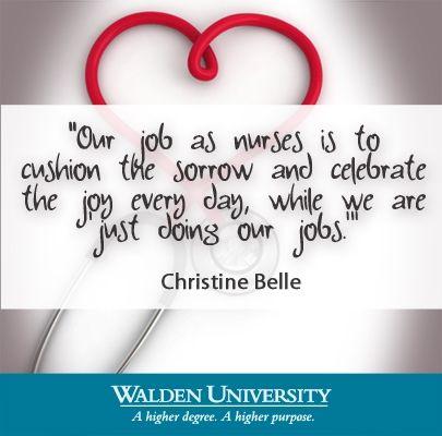 2013 National Nurses Week and Nurse Appreciation Day Walden University   waldenu.edu