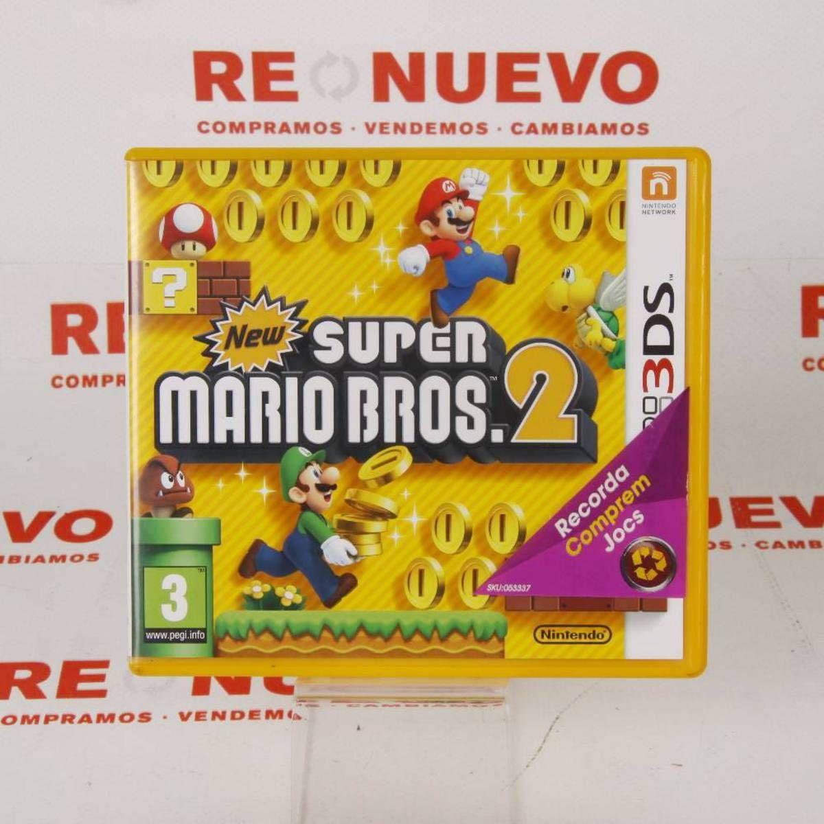 Videojuego Super Mario Bros 2 Para 3ds E270538 Juego Nintendo 3ds De