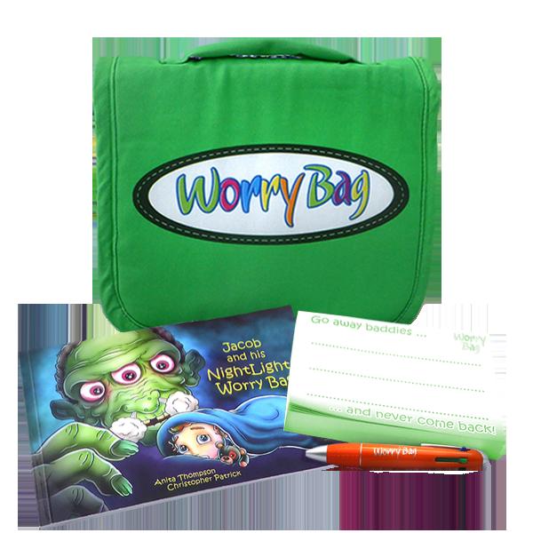 Worry Bag Green Everything