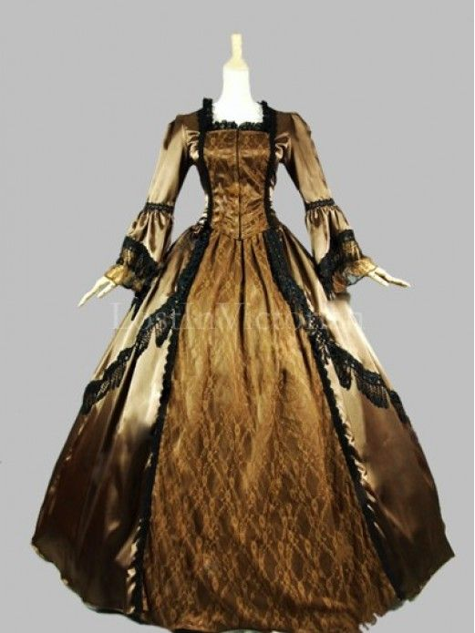 Historical 18th Century Marie Antoinette Inspired Dress Ball Gown  Reenactment Clothing Prom Dress Couture e6e20890b08d