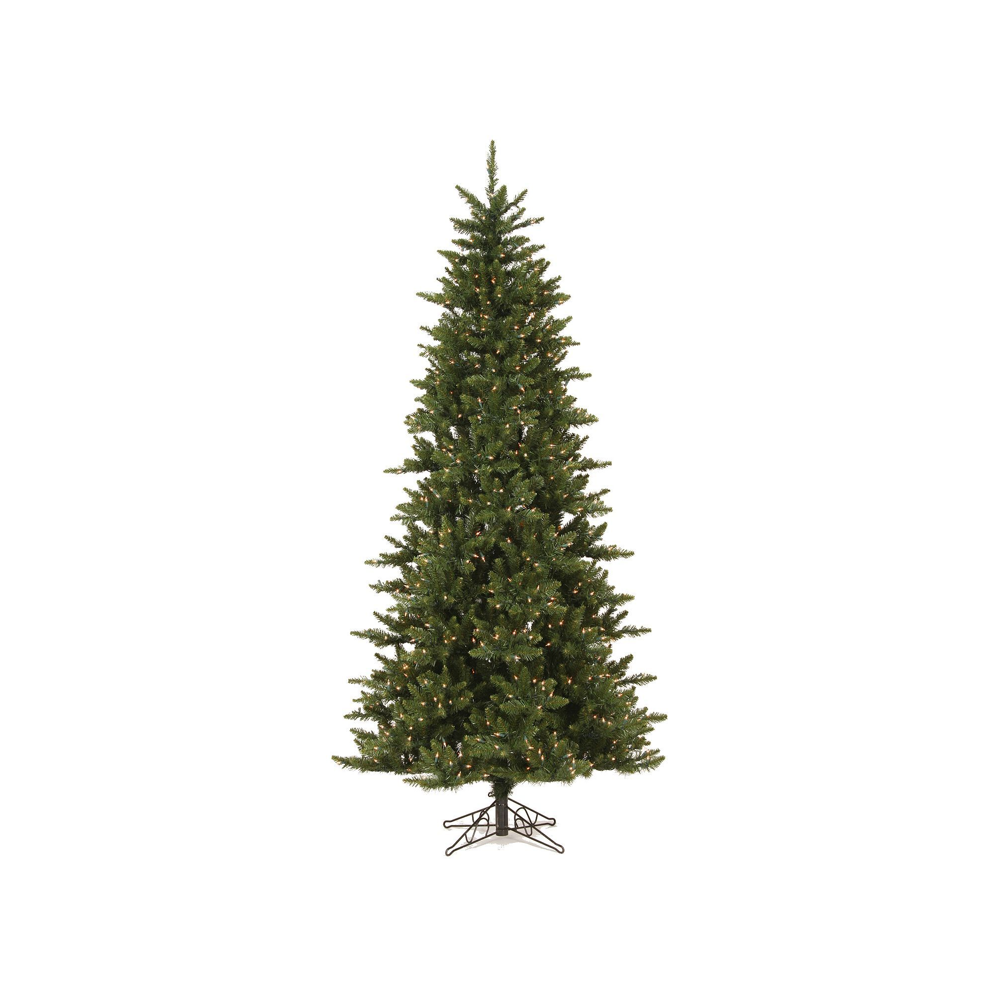 Vickerman 75 Ft Pre Lit Camden Fir Slim Artificial Christmas Tree
