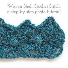 Photo of TUTORIAL: Woven Shell Crochet Stitch — Emmy + LIEN