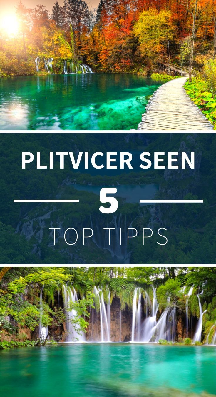 Hier findest du die besten Tipps zu den Plitvicer Seen in Kroatien