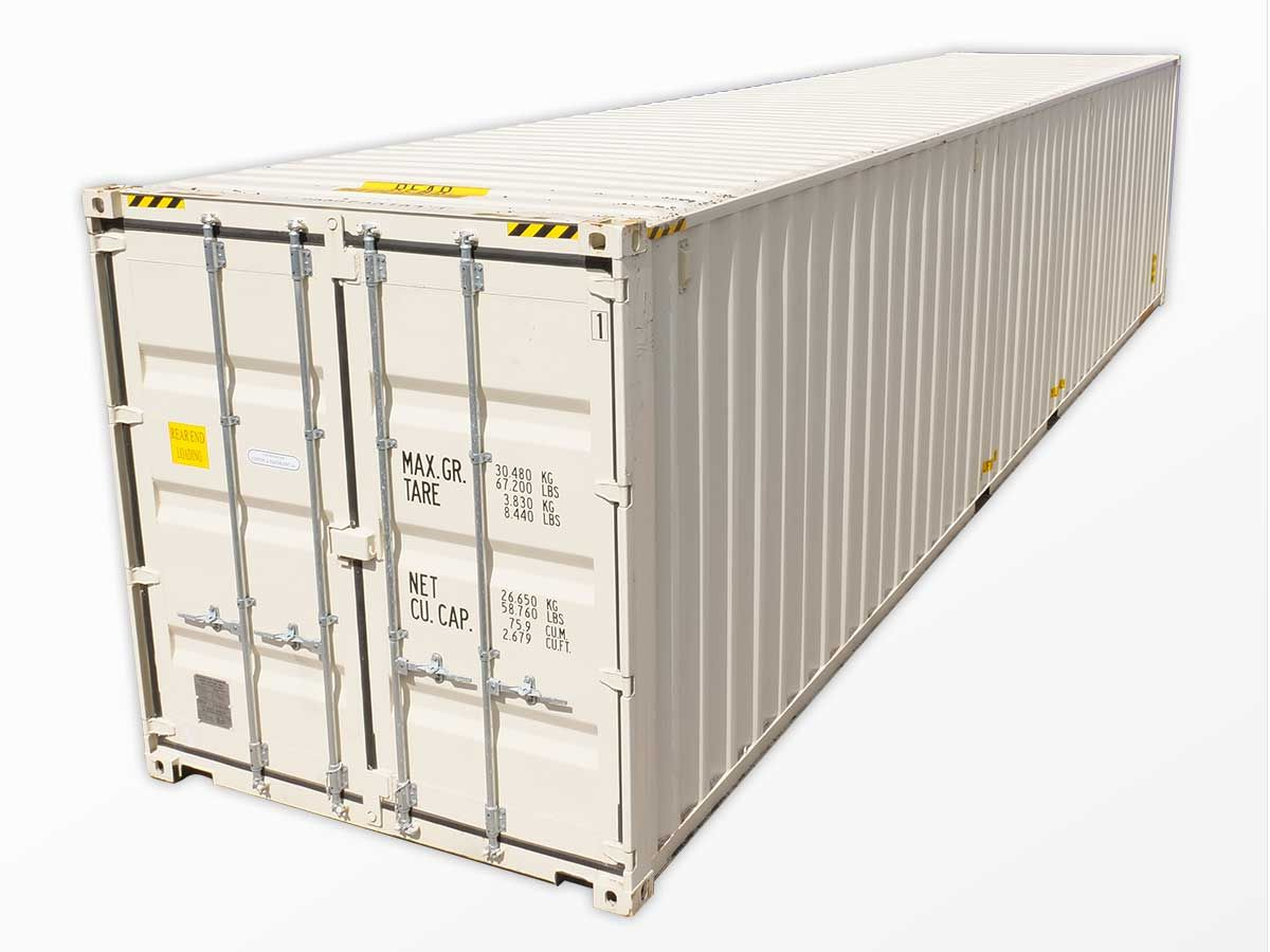 Interport S 40 Foot High Cube Containers Come In New And Used Container Conditions And Are Ava Containers For Sale Cargo Container Shipping Containers For Sale
