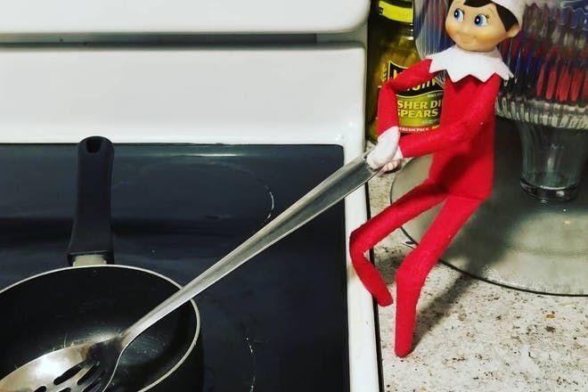 Funny Elf On The Shelf Ideas For Kids Children + Funny Elf On The Shelf Ideas For Kids , #ch...