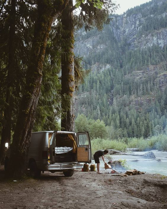 14 Van Life Pictures That Will Inspire You To Hit The Road - #14+ #Hit #Inspire #Life #Pictures #Road #That #The #to #Van #Will #You