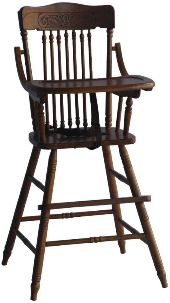 Rent The Perfect Wooden High Chair For Your Babyu0027s First Birthday!
