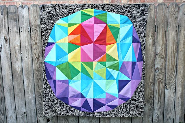 Tula pink's space dust quilt