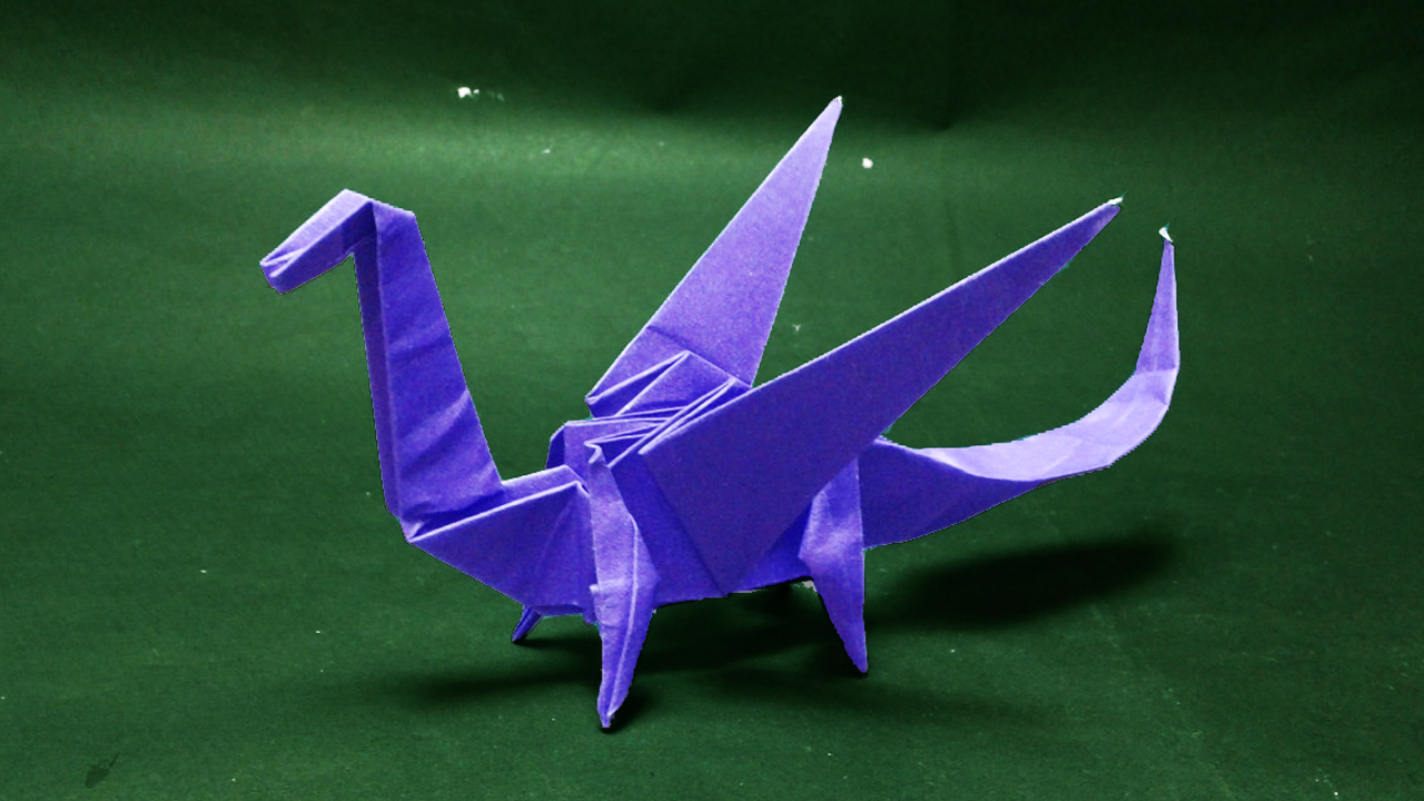 Photo of Origami Dragon-How to make easy origami Dragon step by step-paper craft #origami…