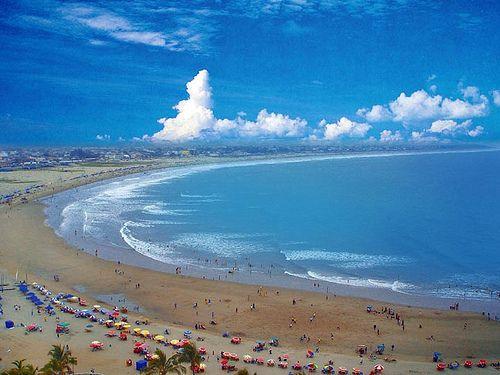 Murcielago Beach In Manta Ecuador Countries To Visit Latin America Gray
